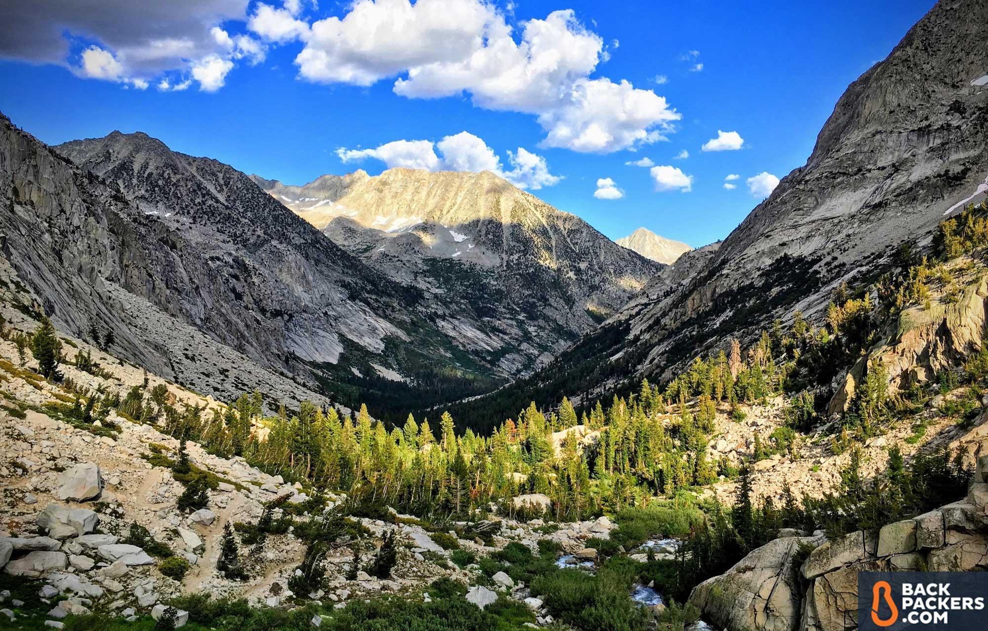 thru hiking the john muir trail 19