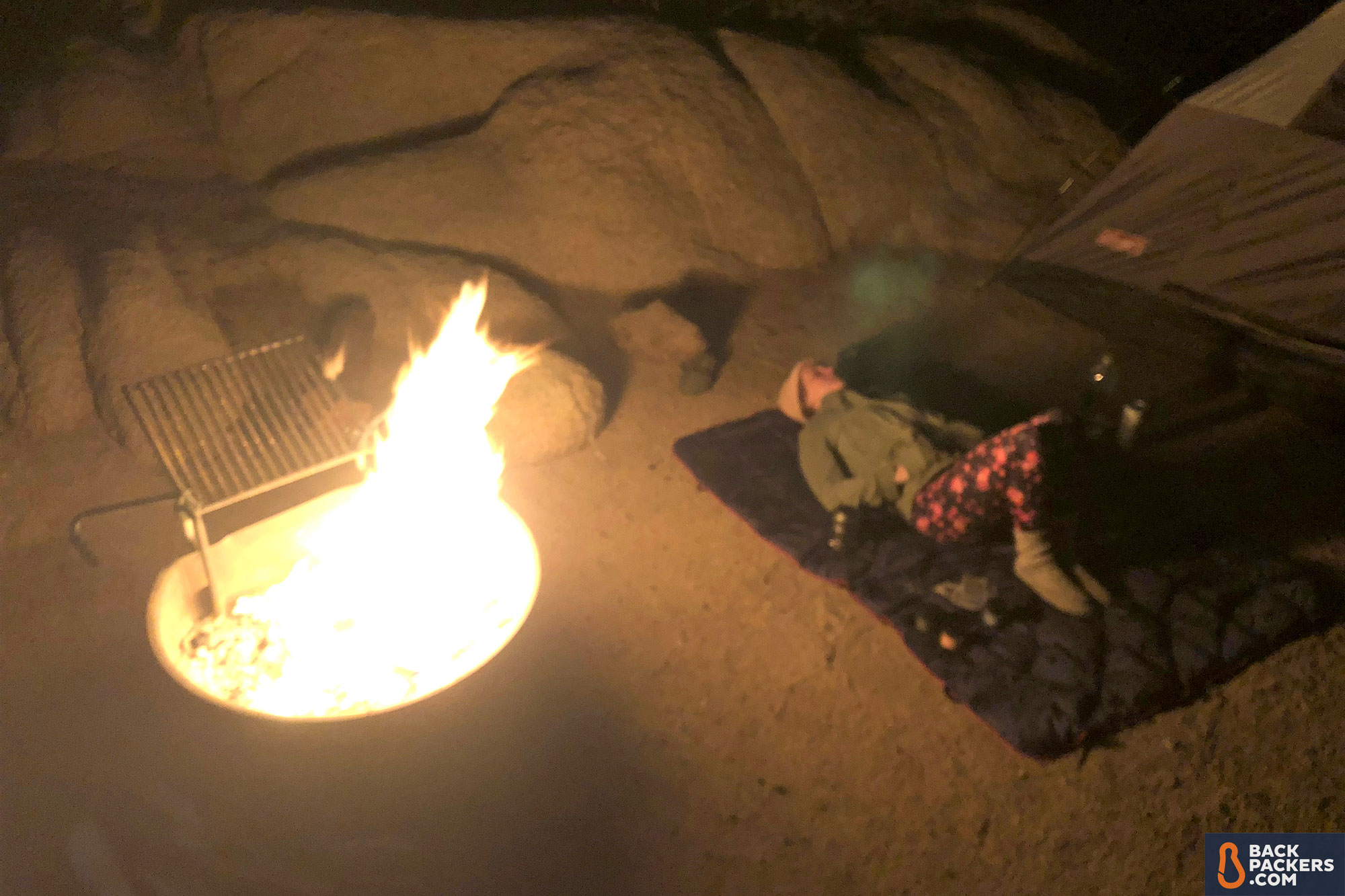 Rumpl-Down-Puffy-Blanket-review-night-campfire