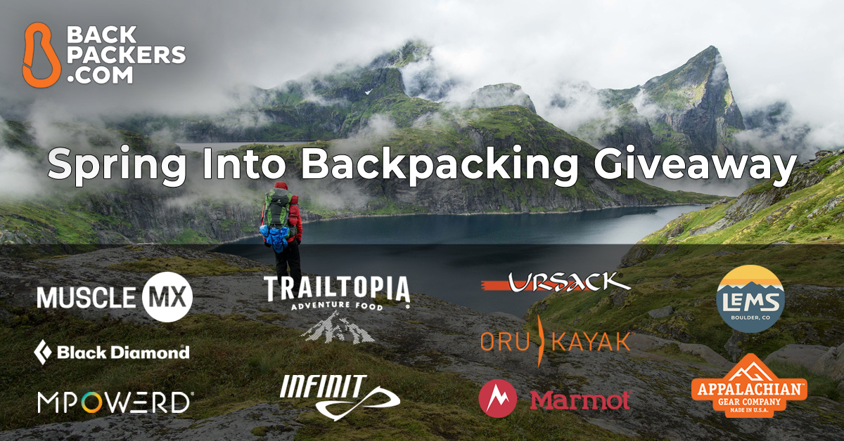 spring into backpacking giveaway